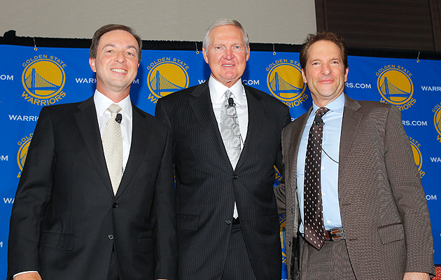 NBA legend Jerry West joined the Golden State Warriors organization in 2011.