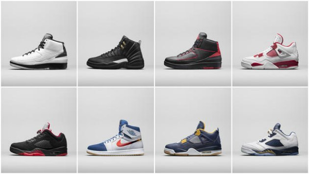 Jordan Brand unveils the upcoming Legacy Pack for 2016