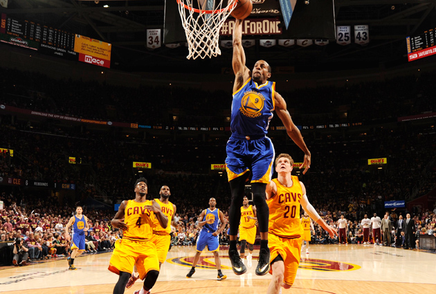 Andre Iguodala starred in Game 4 of the NBA Finals, which was his first start of the season.