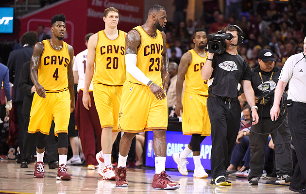 LeBron James reinvigorated the Cavaliers and put in motion key midseason trades that led to a NBA Finals appearance.