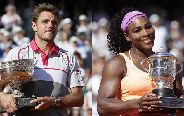 serena williams stan wawrinka french open