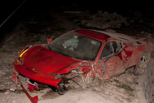 Chile's Arturo Vidal crashed his Ferrari while allegedly under the influence in the midst of Copa America
