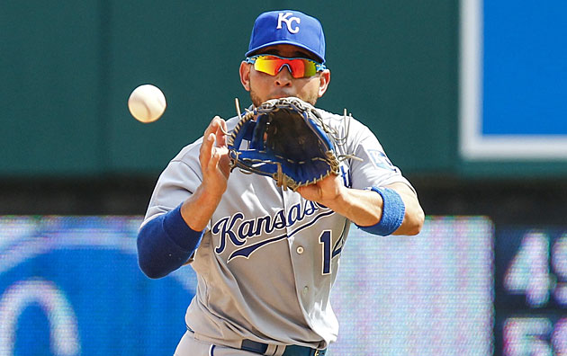Omar Infante, Kansas City Royals