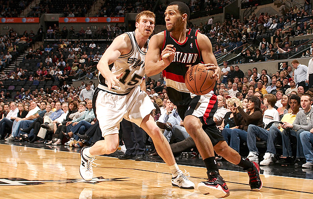 Injuries derailed a promising career for Blazers guard Brandon Roy.