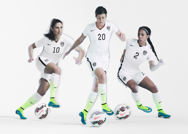 Nike has been a longtime sponsor of U.S. Soccer