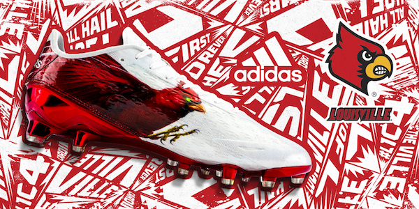 louisville football new uniforms adidas