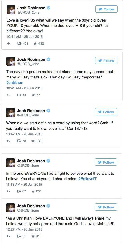 Josh Robinson Minnesota Vikings Tweets
