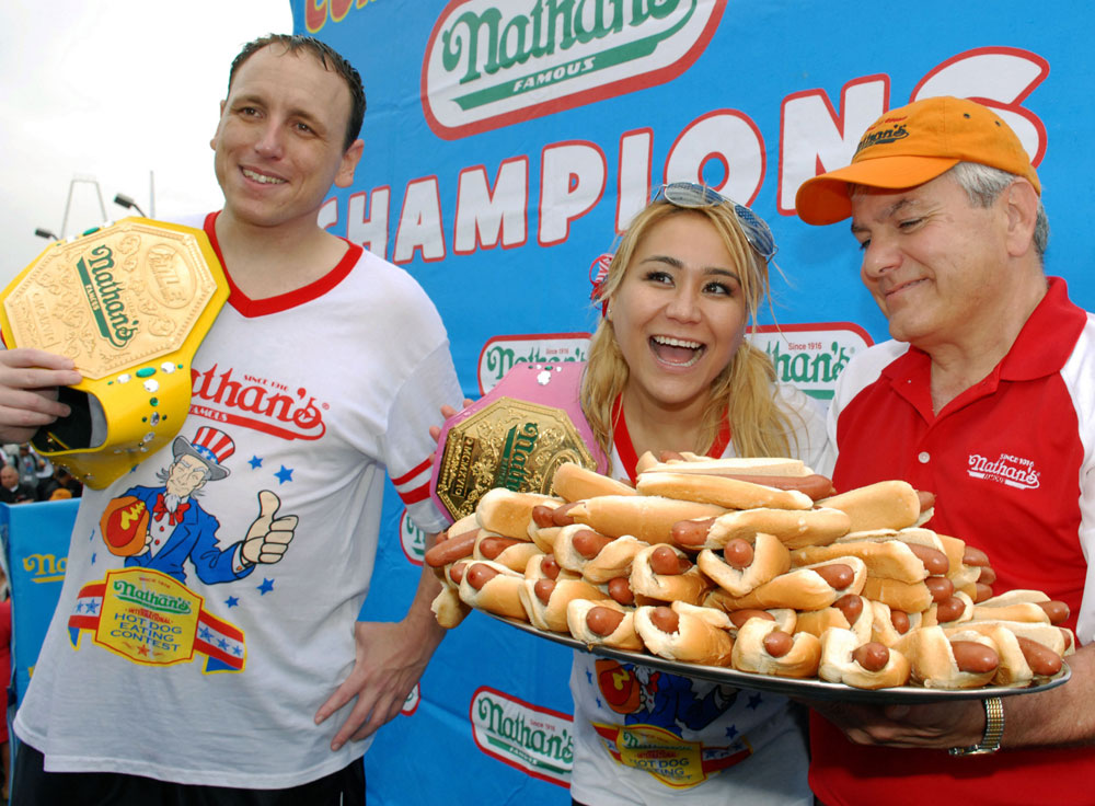Nathan Hot Dog Contest