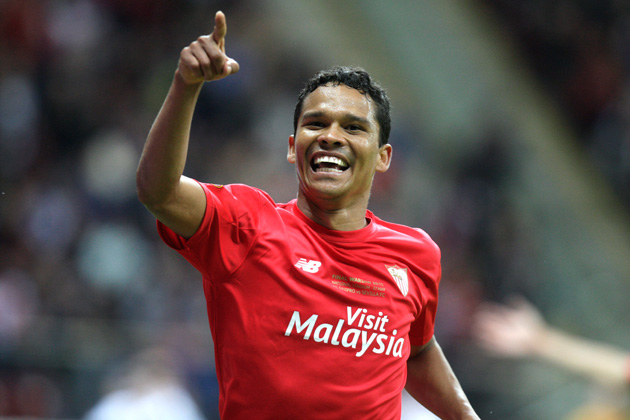 Carlos Bacca takes his goal-scoring talents from Sevilla to AC Milan