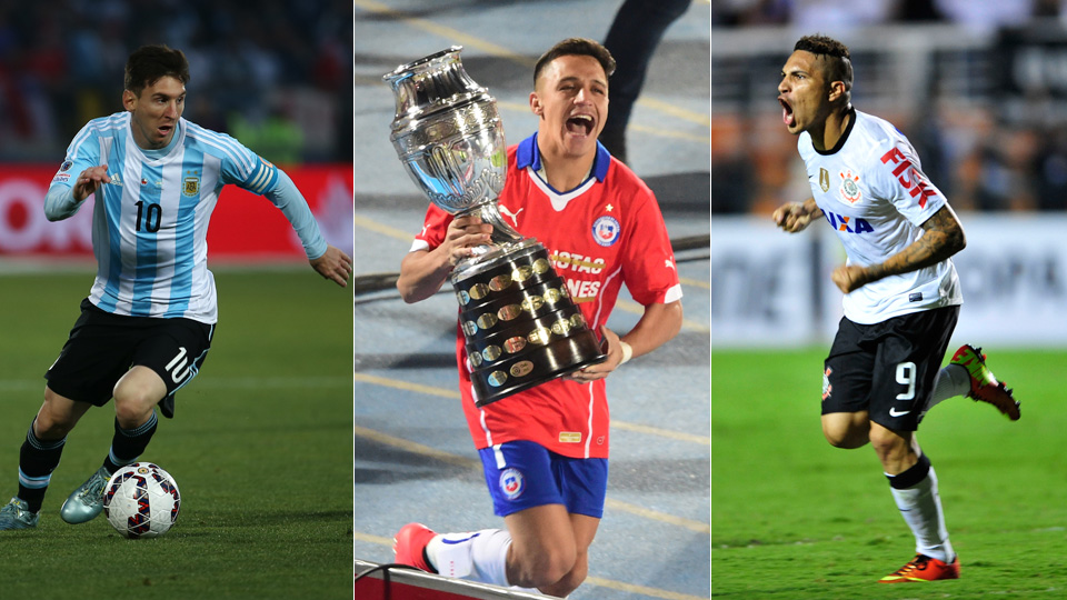 Lionel Messi, Alexis Sanchez and Paolo Guerrero were standout performers at the 2015 Copa America