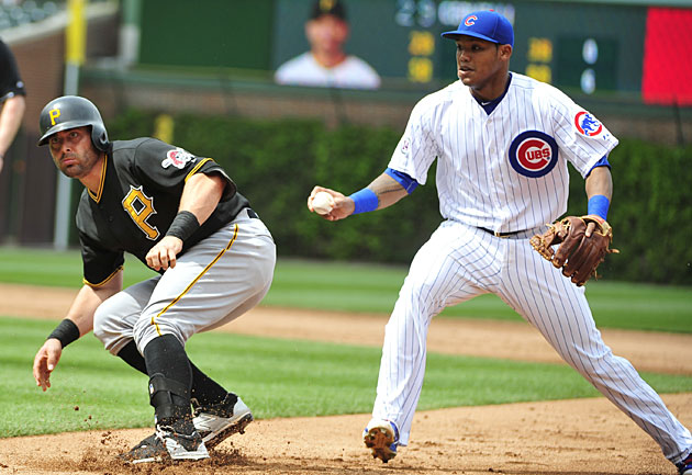 Francisco Cervelli, Pittsburgh Pirates and Addison Russell, Chicago Cubs