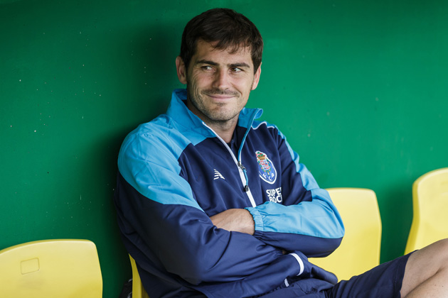 Iker Casillas is set to play for Porto after spending his whole career with Real Madrid