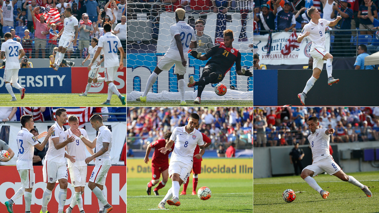 The U.S. men put on a clinic against an overmatched Cuba in the Gold Cup quarterfinals, with Clint Dempsey's hat trick leading the way in a 6-0 rout. Gyasi Zardes, Aron Johannsson and Omar Gonzalez also scored.