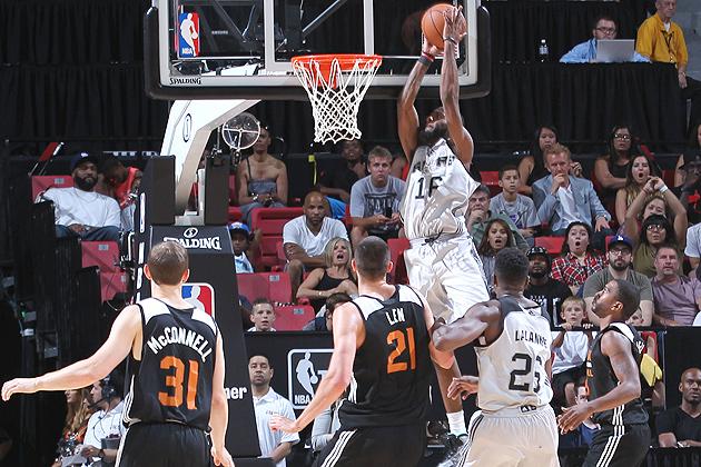 Jonathan Simmons, San Antonio Spurs beat the Phoenix Suns to win the Las Vegas Summer League.