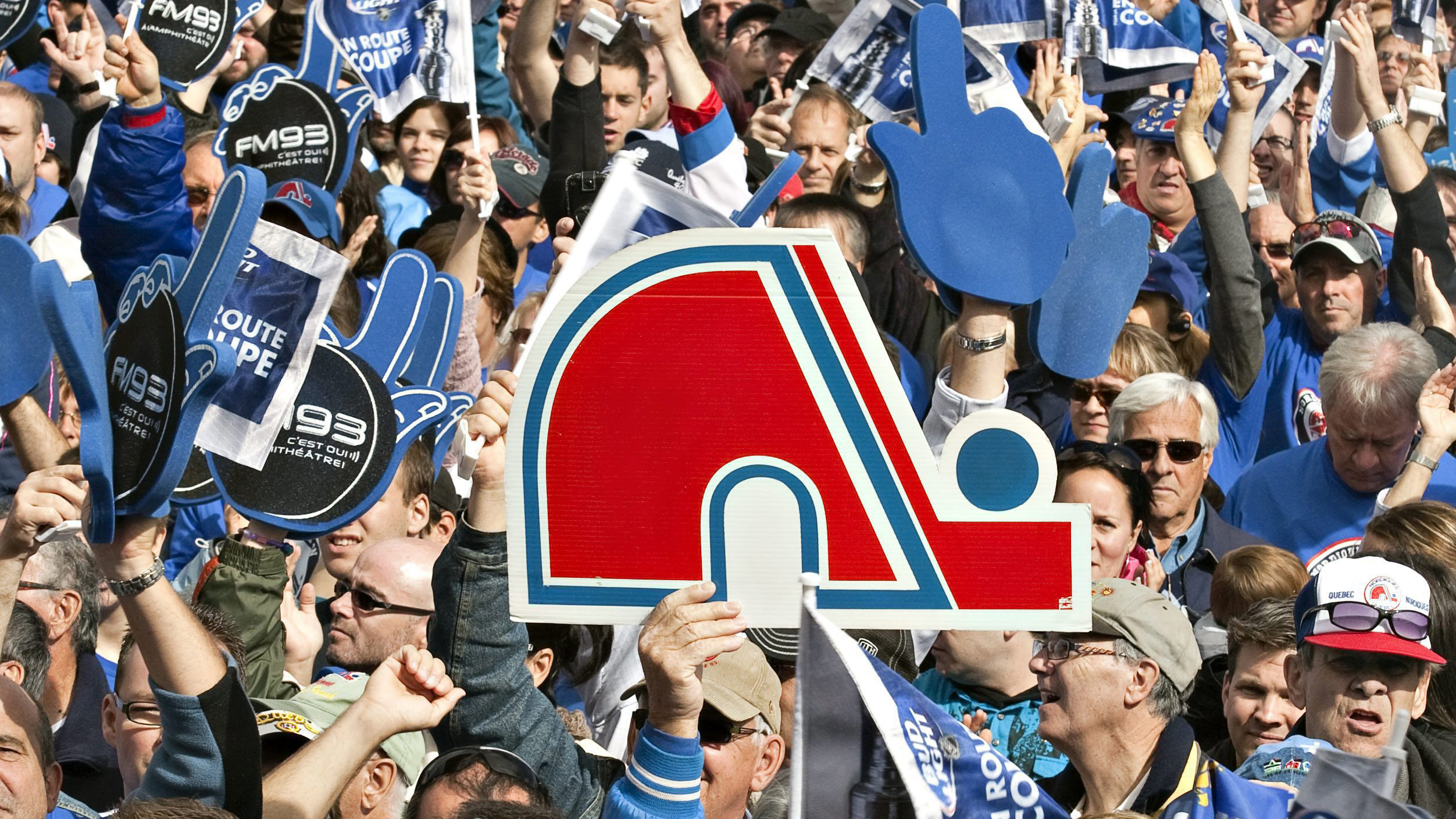 "In 2010, residents of Quebec City pushed for the return of the Nordiques at the ""Blue March."""
