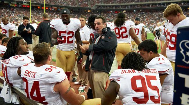 49ers head coach Jim Tomsul