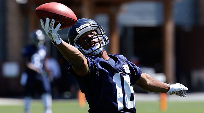 Seattle Seahawks rookie Tyler Lockett