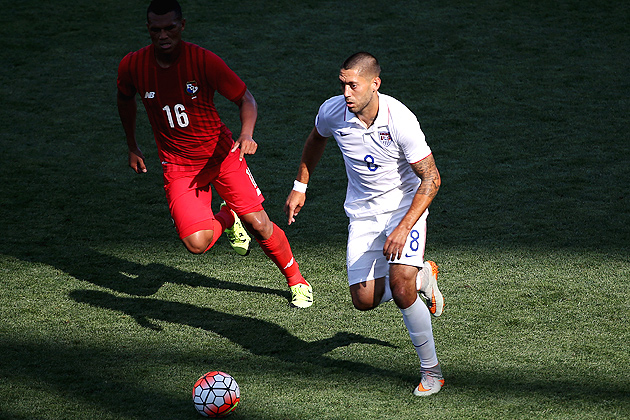 Clint Dempsey scored his seventh goal of the Gold Cup in USA's loss to Panama.