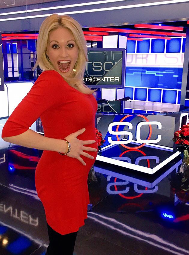 lisa-kerney-espn-pregnant
