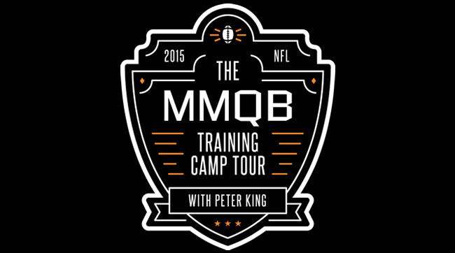 The MMQB 2015 Training Camp Tour is underway