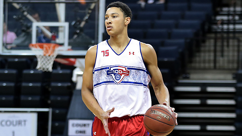 Ben Simmons defied typical recruiting drama by choosing LSU before his senior season even began.