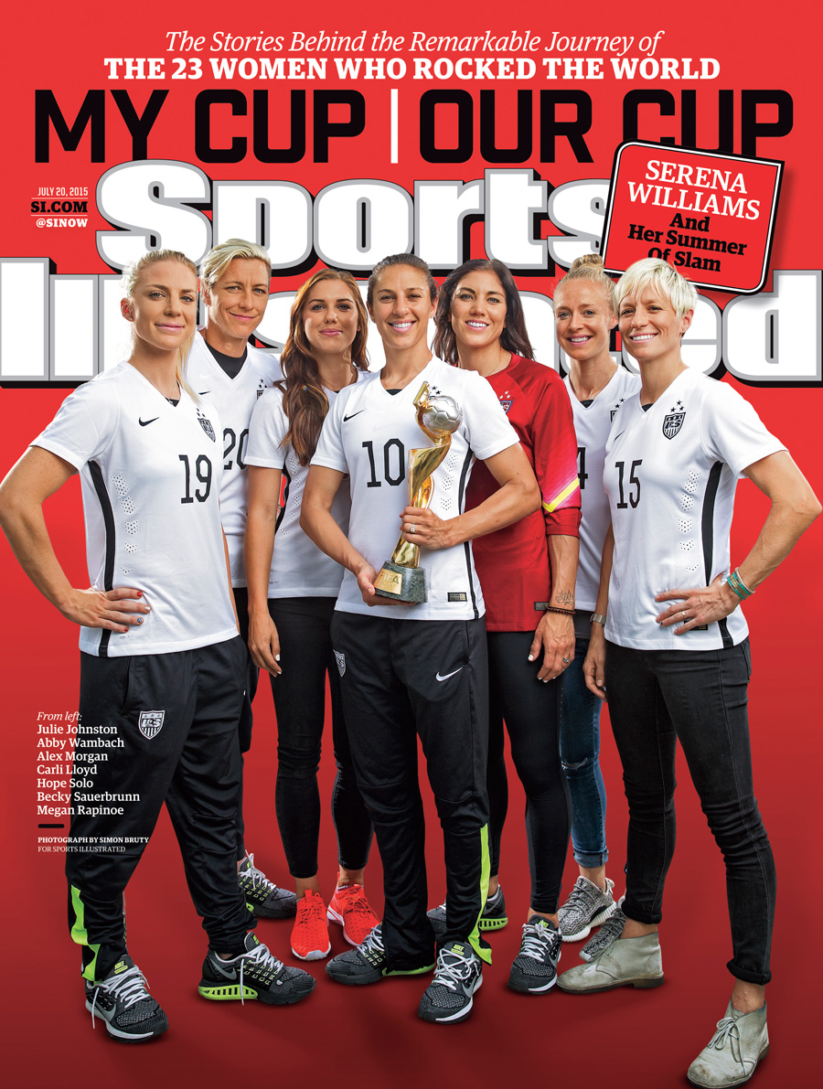 With new cup name and logo its time to go to work foxsports com - One Of 25 Covers Honoring The Uswnt S 2015 World Cup Triumph
