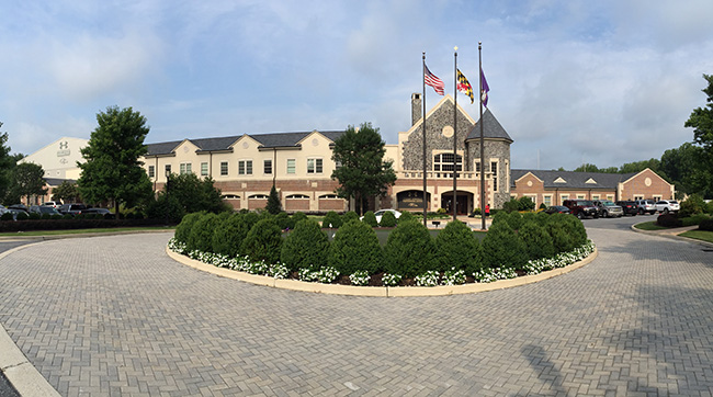 The MMQB team visited Ravens camp for the third stop on the 2015 training camp tour. Photo: John DePetro/The MMQB