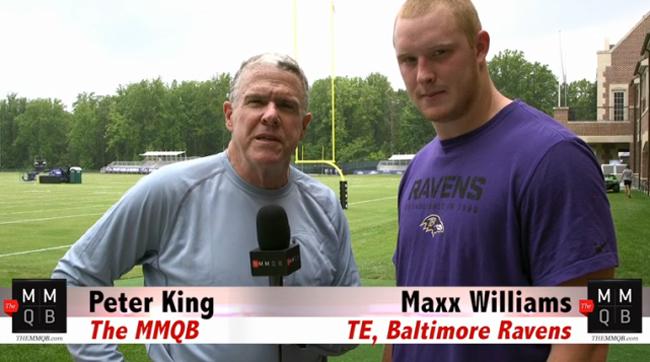 Maxx Williams, Baltimore Ravens rookie tight end