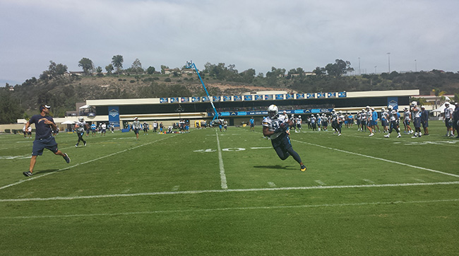 San Diego Chargers Training Camp