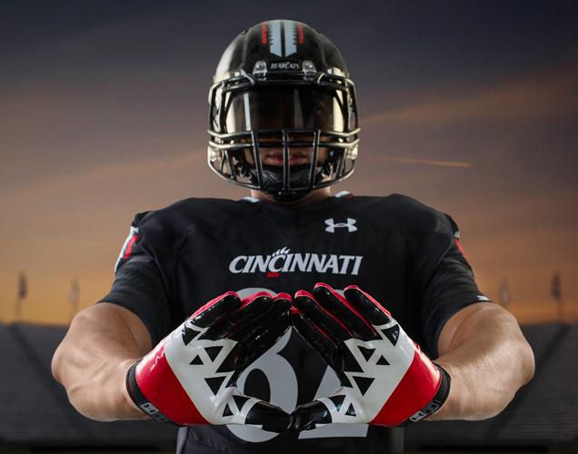 Cincinnati football uniforms 1