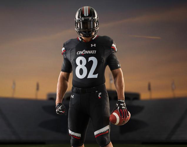 Cincinnati football uniforms 2