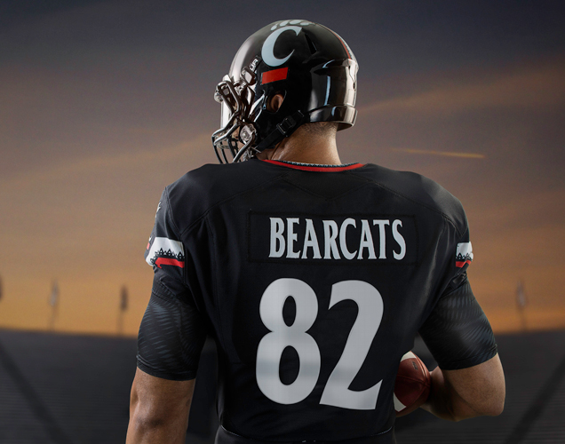 Cincinnati football uniforms 3