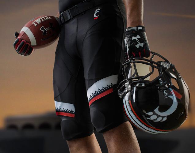 Cincinnati football uniforms 4