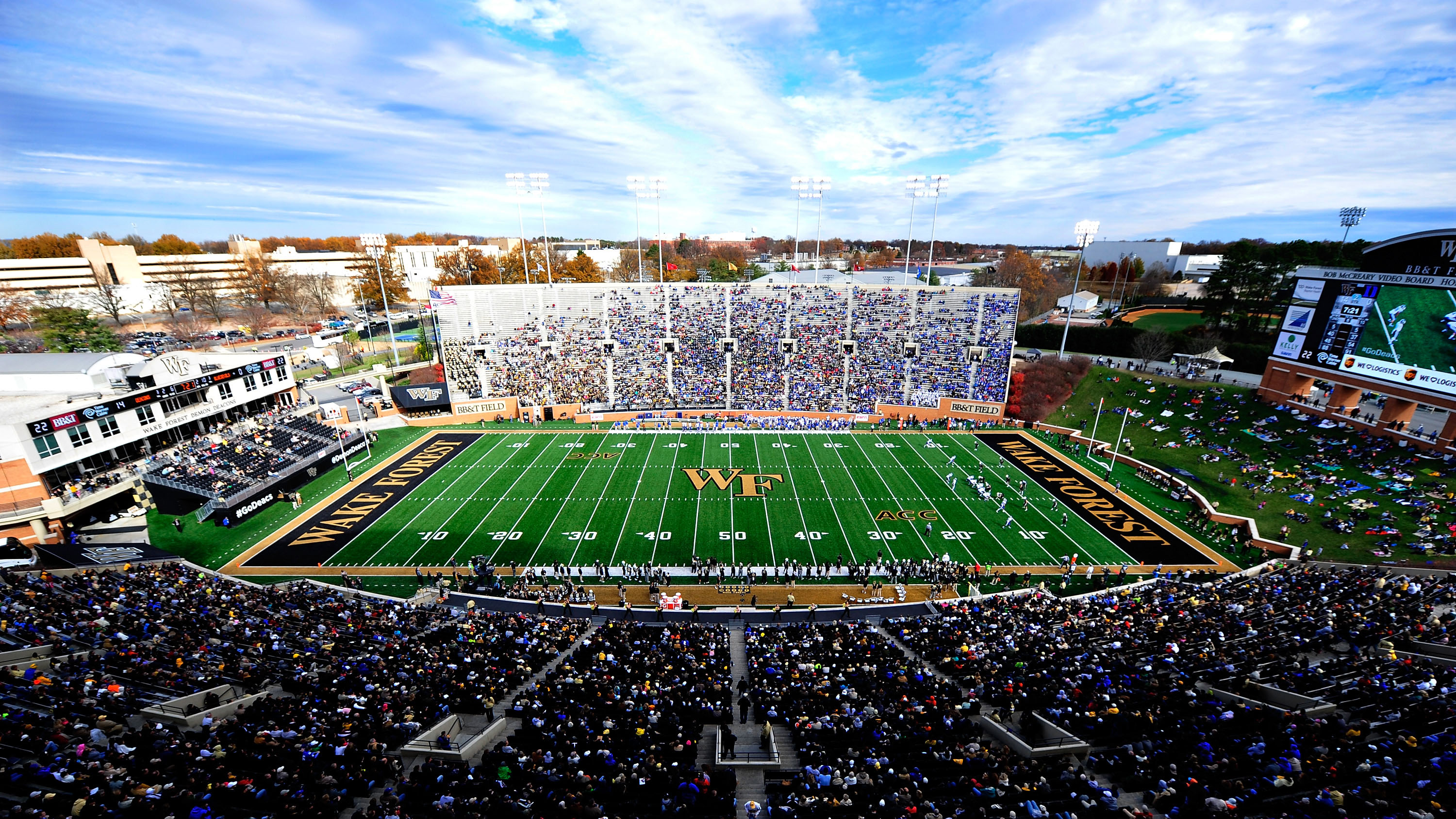 Image result for wake forest football stadium