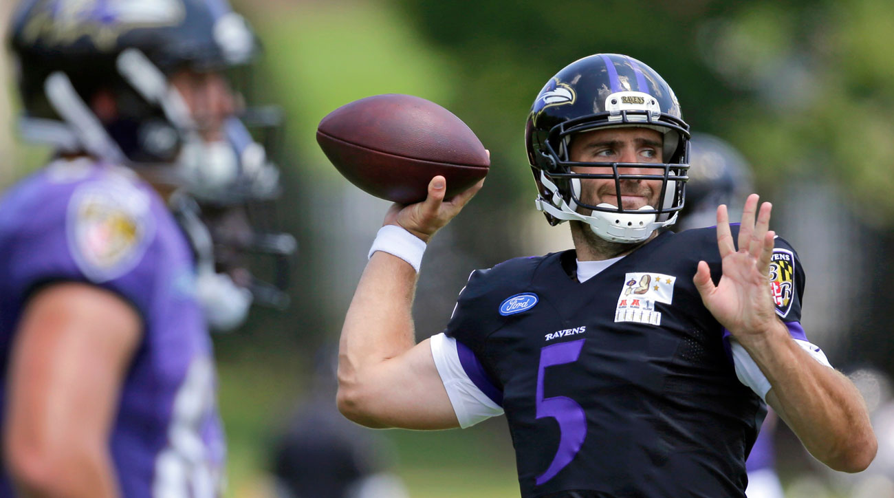 The unflappable Flacco, now 30, has started every game for the Ravens since his rookie year, 2008. (Photo: Patrick Semansky/AP)