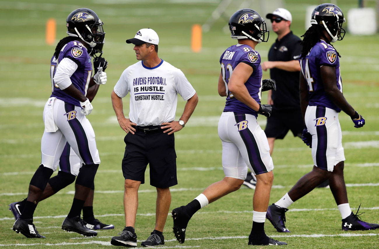 Harbaugh has taken the Ravens to the playoffs in six of his seven seasons. (Photo: Patrick Semansky/AP)