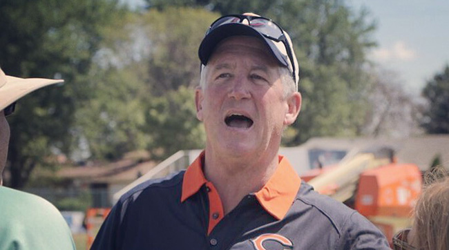 Chicago Bears head coach John Fox takes on his third head coaching job- will he finally win a Super Bowl with Chicago? Photo: John DePetro/TheMMQB