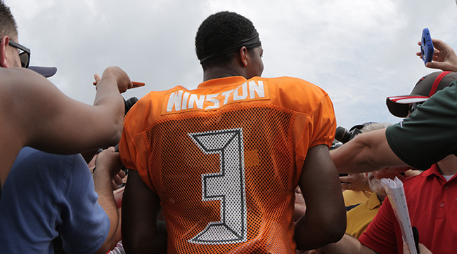 All eye are on Jameis Winston this season. Photo: John DePetro/The MMQB