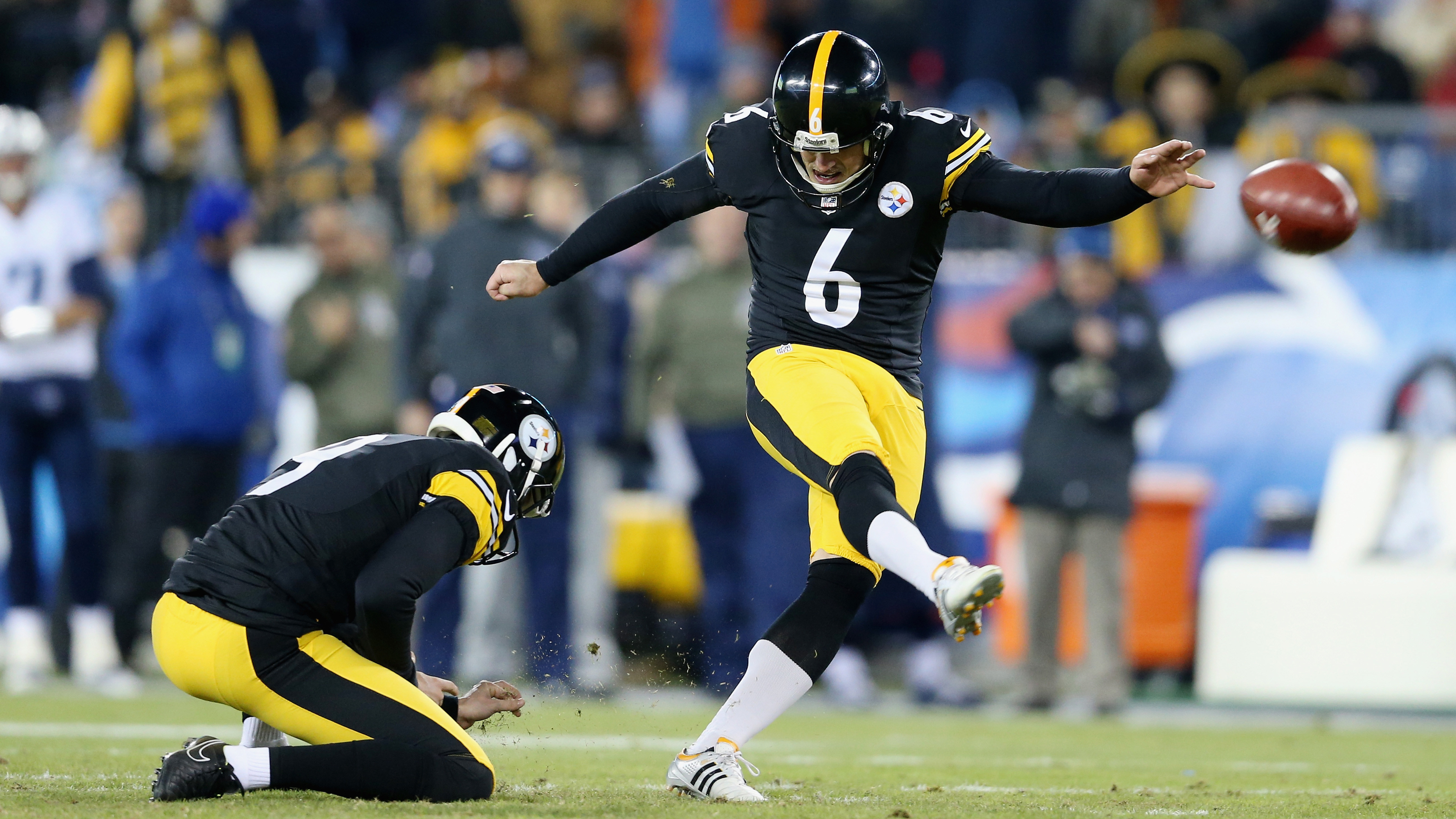 5e40e9acb ... Jersey - 69.99 Pittsburgh Steelers Shaun Suisham tears ACL in Hall of  Fame game SI.com ...