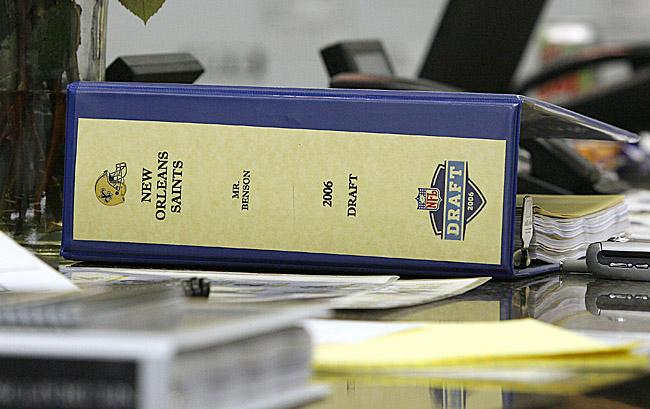 Saints 2006 NFL draft class