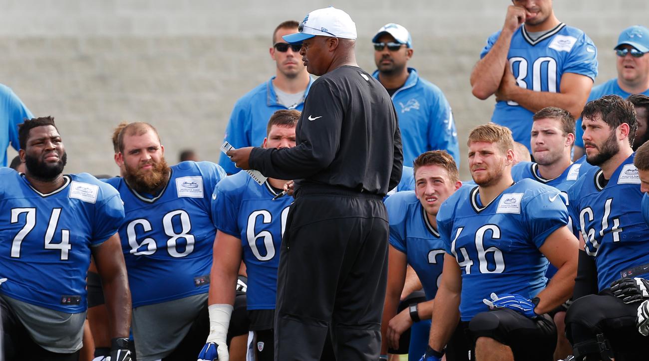 Jim Caldwell, Detroit Lions, Training Camp 2015