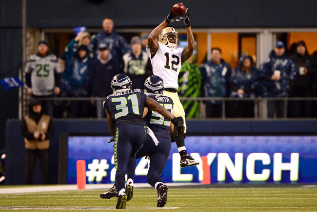 Marques Colston has made a living working the seams in the Saints offense