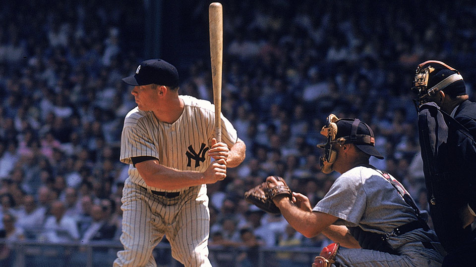 Mickey Mantle, New York Yankees