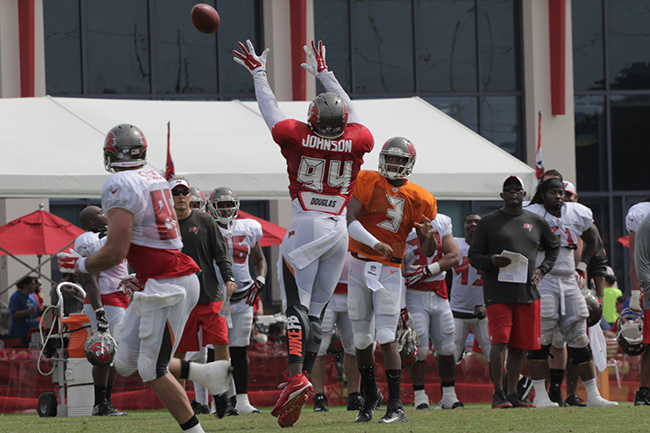 TAMPA, FLA. — Winston targeted Buccaneers tight end Luke Stocker.