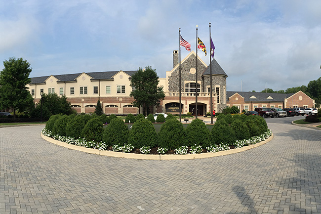 OWINGS MILLS, MD. — The sprawling, castle-like headquarters of the Baltimore Ravens is unlike any other NFL practice facility.