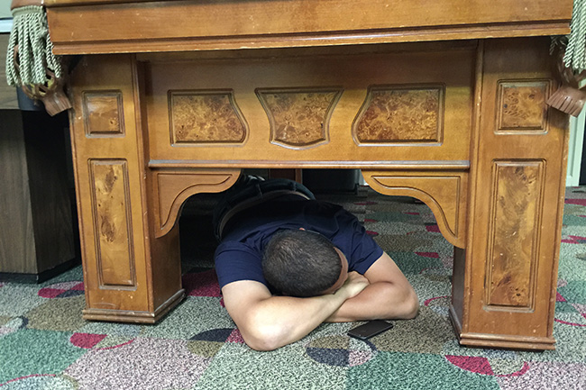 SPARTANBURG, S.C. — An exhausted Robert Klemko took a short nap before practice underneath a pool table in the rec room at Wofford's student union.