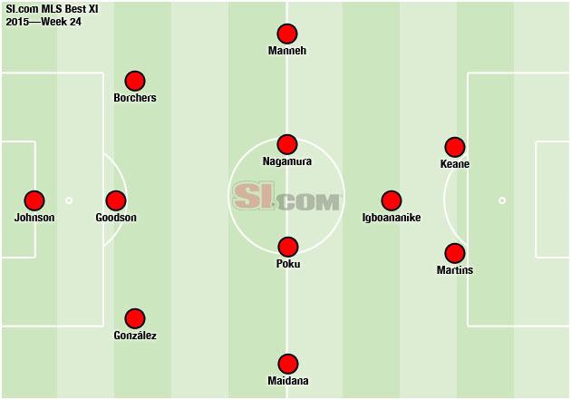 MLS Best XI Week 24