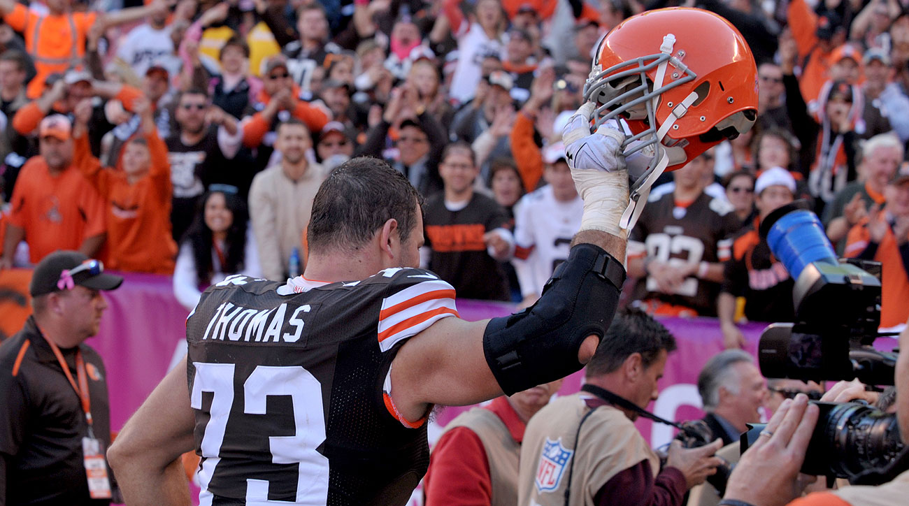 Joe Thomas Cleveland Browns