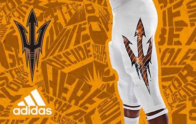 arizona state adidas uniforms desert ice season opener