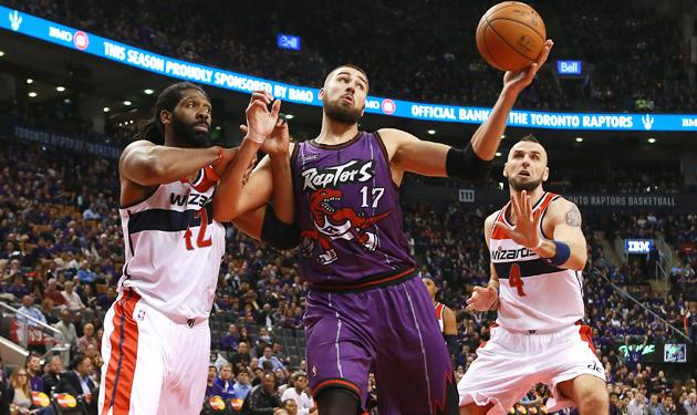 Jonas Valanciunas, Toronto Raptors signed a four-year, $64 million extension.